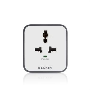 Belkin Universal Socket Cube 1 way Surge Protector Spike Buster
