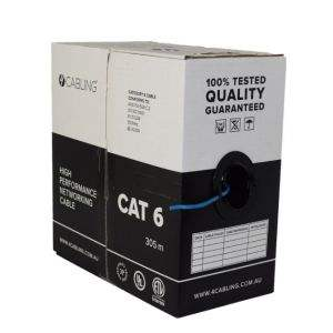 CAT 6 UTP LAN Network Cable 305 Mitrers Bundle Box