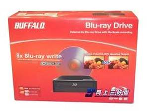 Buffalo USB External BD-RE Blu-ray Burnerr Drive