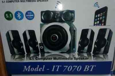 Bond IT7070BT 5.1 Multimedia with FM, USB & Remote Control Woofer Speaker
