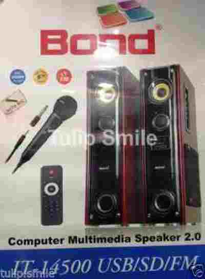 Bond IT-14500BT Multimedia Bluetooth with Wireless Mice and USB Tower Speaker
