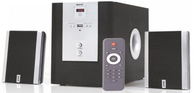 Bond IT4060 2.1 Multimedia with FM, USB & Remote Control Woofer Speaker