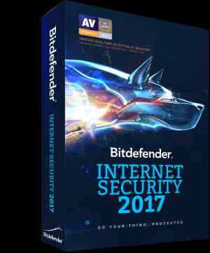 Bitdefender 2017 Internet Scrurity SI Pack 3 CD 3 Key Software CD
