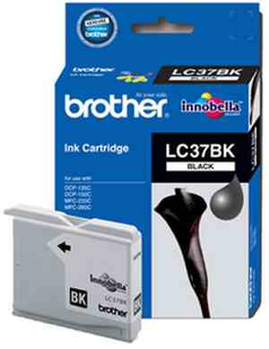 Brother LC 37BK Black Ink cartridge