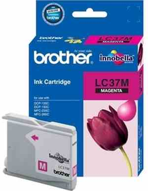 Brother LC 37M Magenta Ink cartridge