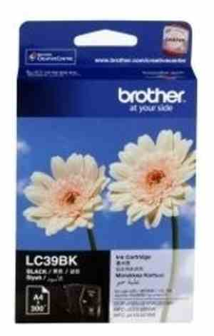 Brother LC 39BK Black Ink Printer Cartridge
