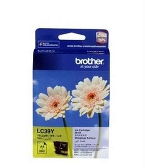 Brother LC 39Y Yellow Ink Printer Cartridge