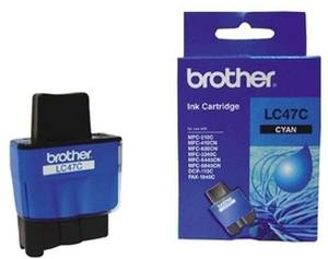 Brother LC 47C Cyan Ink cartridge