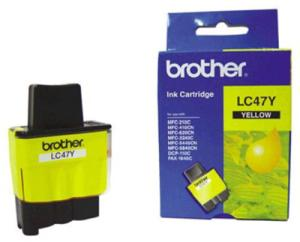Brother LC 47Y Yellow Ink cartridge