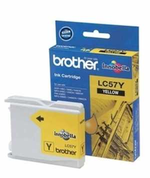 Brother LC 57Y Yellow Ink cartridge