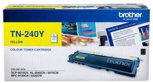Brother TN 240Y Yellow Printer Toner Cartridge
