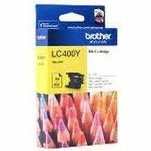 Brother LC 400Y Yellow Ink cartridge