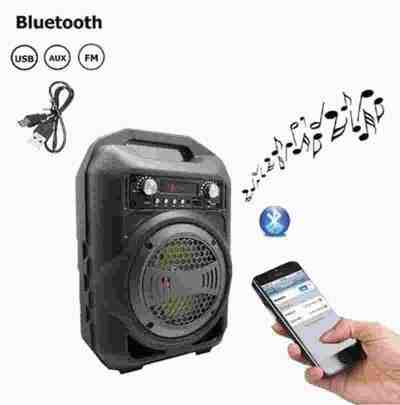 Portable PA BS12 Best Quality Super Bass Bluetooth speaker