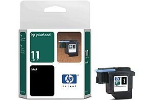 HP 11 Black Printhead (Ink Cartridge)