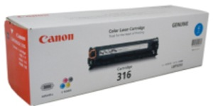 Canon 316C Cyan Printer Toner Cartridge