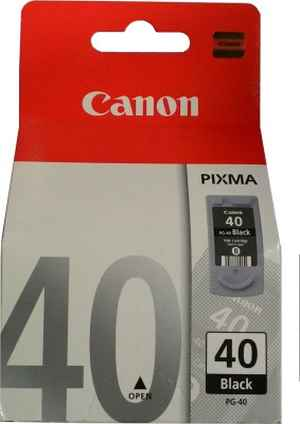 Canon PG 40 Black Print Ink Cartridge