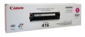 Canon 416M Magenta Printer Toner Cartridge