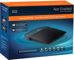 Linksys Cisco EA2700 Advanced Dual-Band N Router