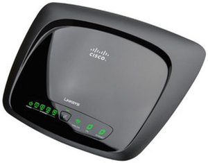 Linksys Cisco WAG120N Wireless-N Home ADSL2 Modem Router