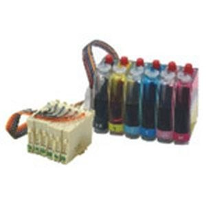 Desmat CISS Supply Ink Kit 6 Color for Epson Printers