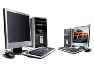Desktop PC with TFT for Home & Office