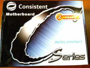 CONSISTENT H61 INTEL CHIPSET DESKTOP MOTHERBOARD