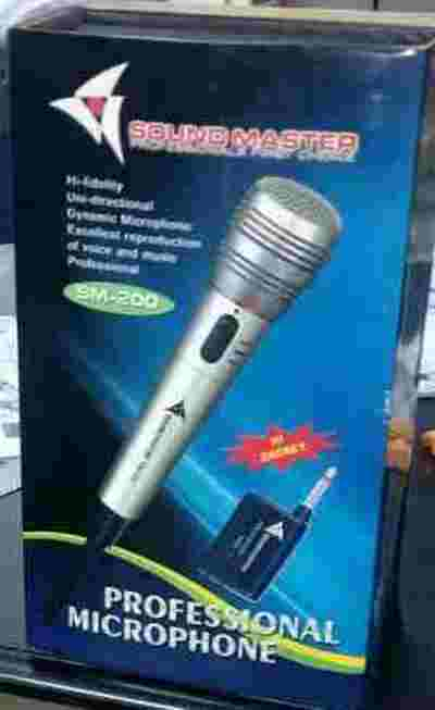 Sound Master Cordless Wireless/Wired HiFi VHF Professional Microphone