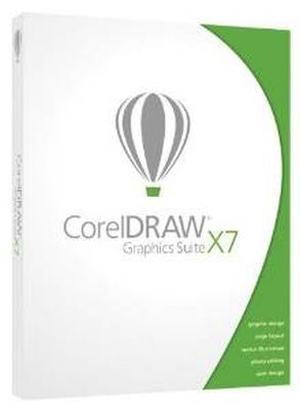 Corel Draw Graphics Suite X7 DVD Win (Subscription Mandatory)