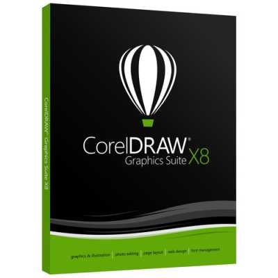 Corel Draw X8 Graphic Suite 2018 (Academic) (Subscription Mandatory) Software