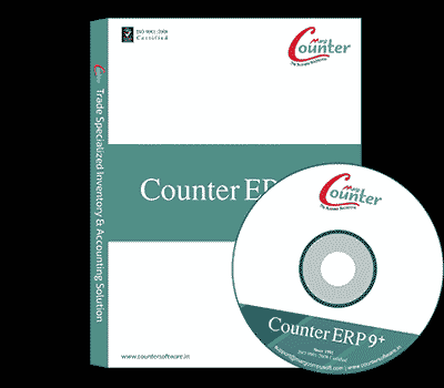 Counter ERP 9 GST Ready Standard Billing for POS, Retail, Distribution, Payroll, Manufacturing & Accounting Software
