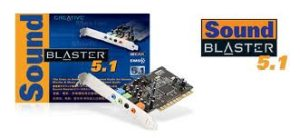 Creative Labs Sound Blaster Live 5.1 Sound Card