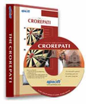 The Crorepati Interactive Quiz Games Software CD