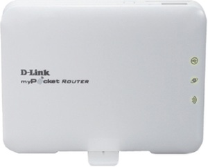 D-Link Dlink DWR-131 3G wifi Wireless Pocket Router with Battery