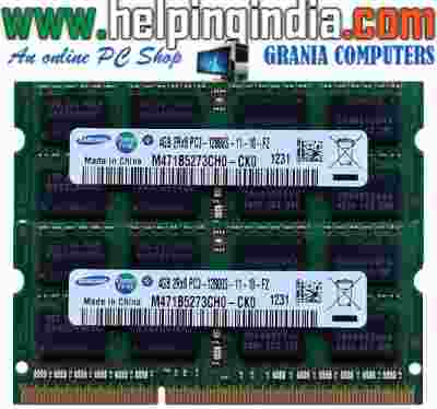 Laptop DDR3 2GB 1600/1333 Bulk Laptop RAM