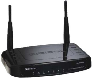 Digisol 300 Mbps Wireless Green Broadband Router