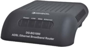 Digisol ADSL2/2+ Single Port Ethernet Broadband Router