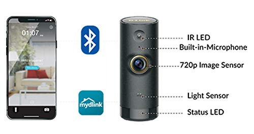 Dlink Mini HD DCSP6000LH 720 P Cloud Wi-Fi Home Camera