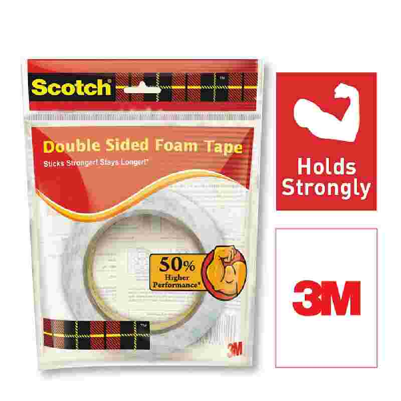 3M Scotch Double Sided Foam Tape