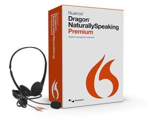 Dragon Naturally Speaking 13.x (with Mike) Premium Software DVD
