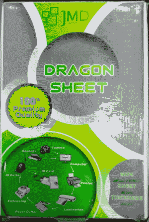 Dragon PVC JMD Non Lamination Inkjet Digital School ID Card Sheets