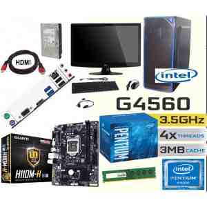 Assembled Computer 7thGen Dual Core Latest for Home/Office CPU PC System Desktop