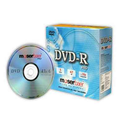 Moser Baer DVD+RW 5 Pack Normal Jewel Case