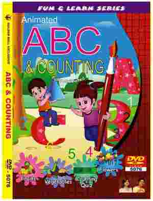 Golden Ball Animated Enlish DVD ABC And Counting