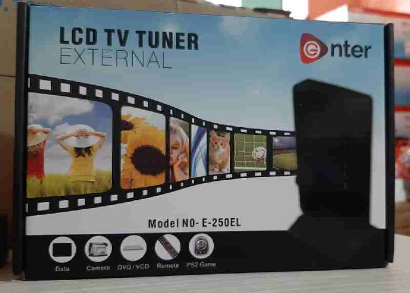 Enter External LCD/LED TV Tuner Box/Card