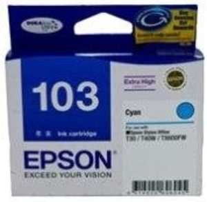 Epson 103 Cyan Ink | Epson 103 (C13T103290) cartridge Price 3 Mar 2021 Epson 103 Ink Cartridge online shop - HelpingIndia