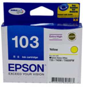 Epson 103 (C13T103490) Yellow Ink cartridge