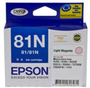 Epson 81n Light Magenta Ink | Epson 81N Light cartridge Price 21 Sep 2020 Epson 81n Ink Cartridge online shop - HelpingIndia