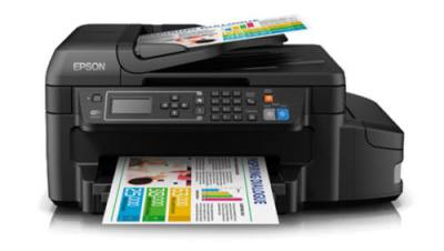 Epson L655 A4 Size Color Duplex wifi All in One with FAX Tank Printer