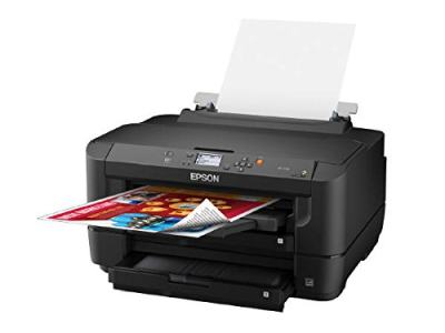 Epson WorkForce WF-7110 A3 Size wide-format Color 2-Sided Auto Duplex Wireless Inkjet Printer