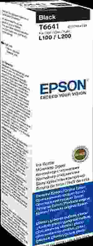 EPSON ORIGINAL BLACK/Color INK BOTTLE FOR L100/L110/L200/L210/L300/L355/L350 PRINTER
